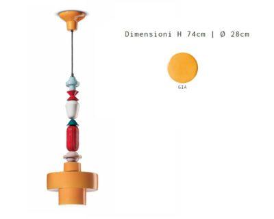 lariat-lampadario-sospensione-giallo-ferroluce