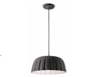 madame-gres-ferroluce-lampadario-moderno-grigio-largo