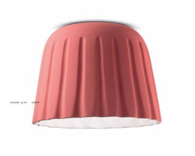 madame-gres-ferroluce-plafoniera-moderna-rosa-corallo