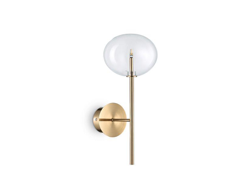 Equinoxe Ideal Lux Applique Vintage Ottone