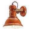 Applique in ceramica C1693 Industrial Collection Ferroluce Arancio