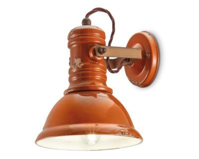 industrial-applique-campana-arancio-ferroluce-retrò