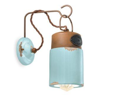 industrial-applique-cilindro-azzurro-ferroluce-retrò