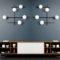 Mikado Miloox applique plafoniera moderna 5 luci