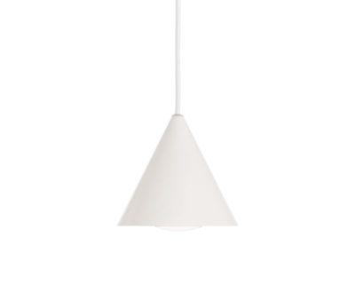 A-Line Ideal Lux Lampadario a Cono moderno bianco diam 13 cm
