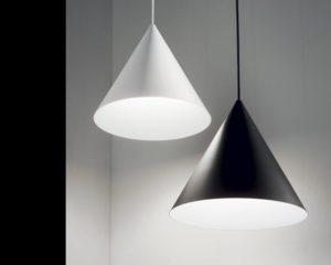 A-Line Ideal Lux Lampadario a Cono Moderno diam 30