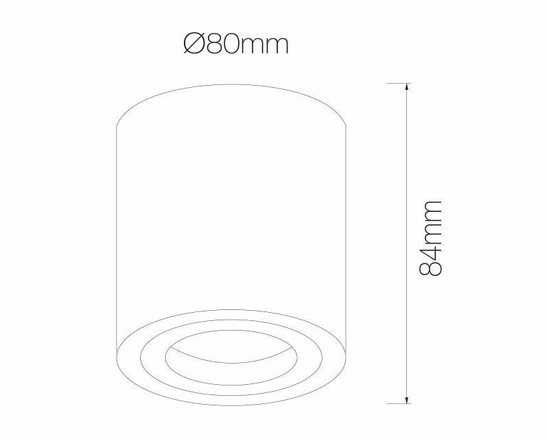 One Beneito Faure Mini Plafone Orientabile Dimensioni