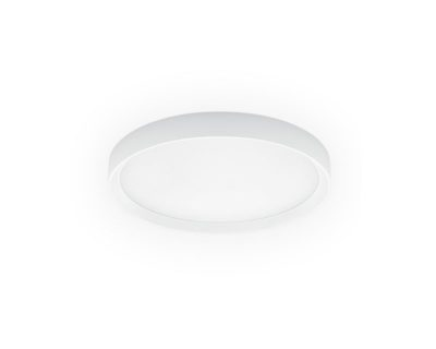 Tara R Linea Light Applique Plafoniera Led Tonda Bianca