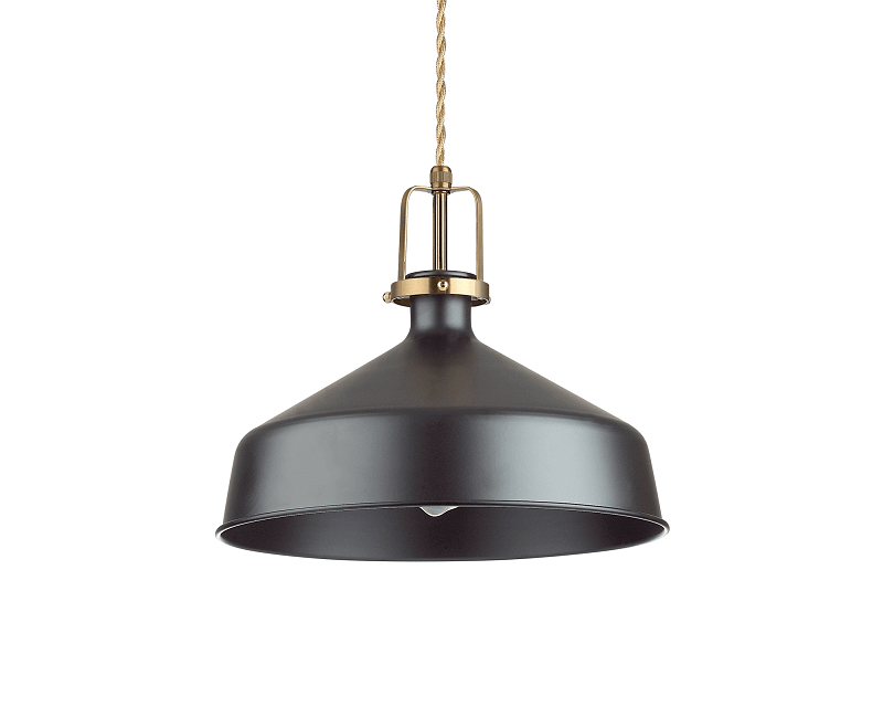 Eris 2 Ideal Lux Lampadario Nero Stile Nordico