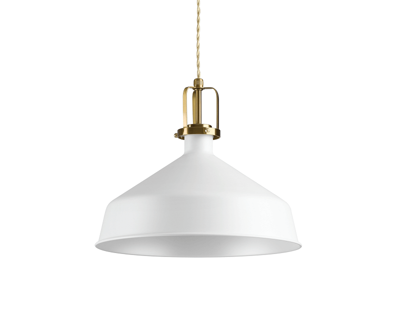Eris 2 Ideal Lux Lampadario Bianco Stile Nordico