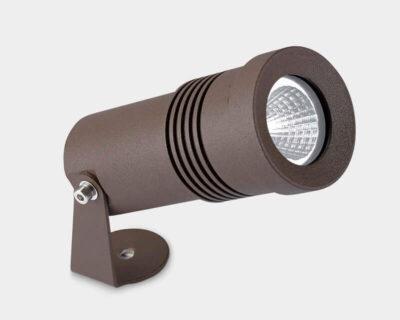 Micro Leds-C4 Proiettore Led da Esterno Marrone