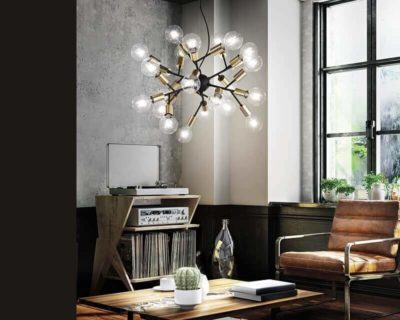 Spark Ideal Lux Lampadario Stile Nordico