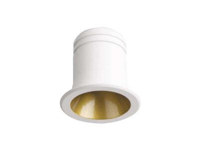 Virus Ideal Lux Faretto Led ad Incasso Bianco Oro