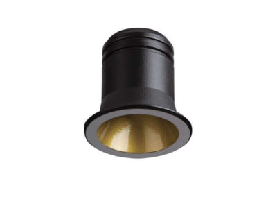 Virus Ideal Lux Faretto Led ad Incasso Nero Oro
