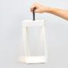 Diogene Marino Cristal Logica Lampada Da Tavolo ricaricabile 30cm