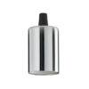 Portalampada E27 liscio Ideal Lux cromo