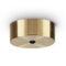 Rosone Tondo Magnetico Ideal Lux Brunito