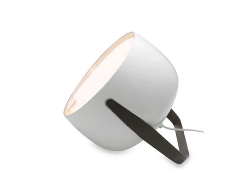 Bag Karman Lampada da Tavolo Bianco Lucido