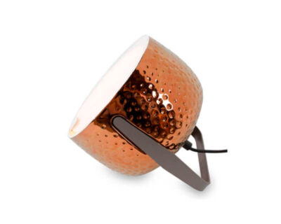 Bag Karman Lampada da Tavolo Bronzo Texture