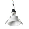 Dome Leds-C4 Faretto da Incasso Bianco ottica retratta