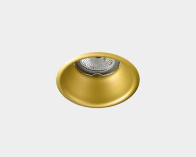 Dome Leds-C4 Faretto da Incasso Oro ottica retratta