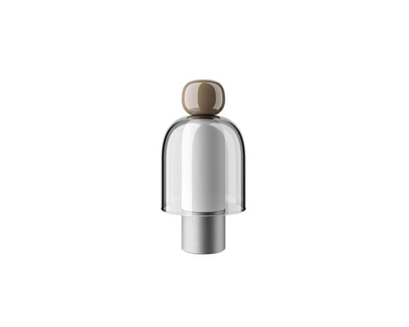 Easy Peasy Chestnut Lodes-Lampada da tavolo ricaricabile