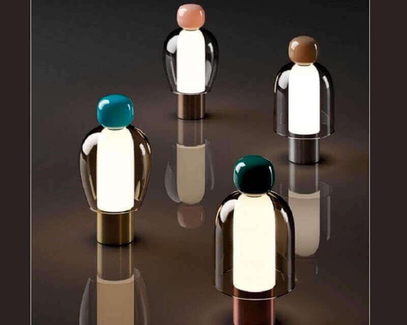 Easy Peasy Lodes Studio Italia Design Lampade Dimmerabili di Design