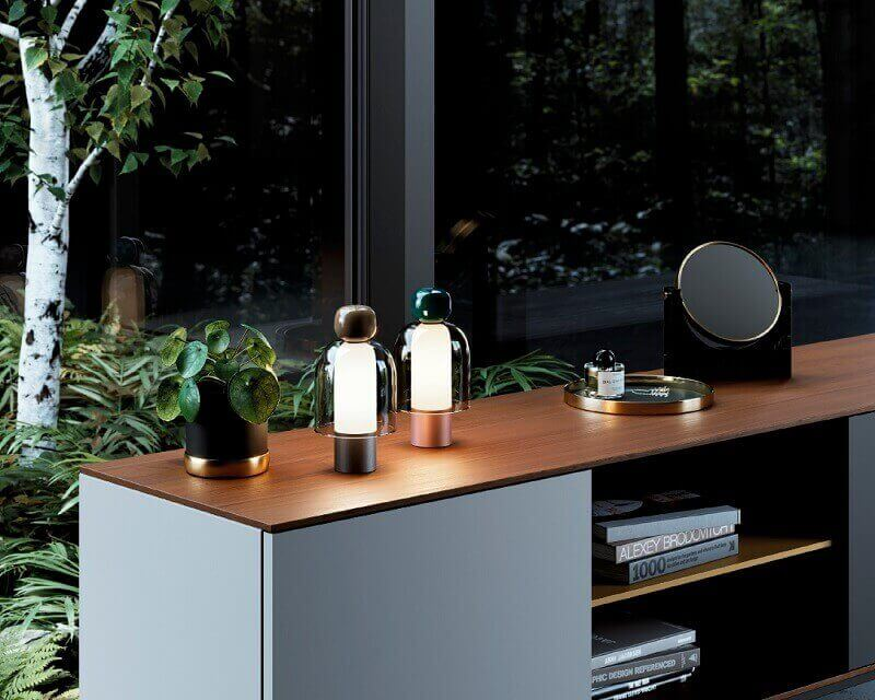 Easy Peasy Lodes Studio Italia Design Lampada Dimmerabile ambiente