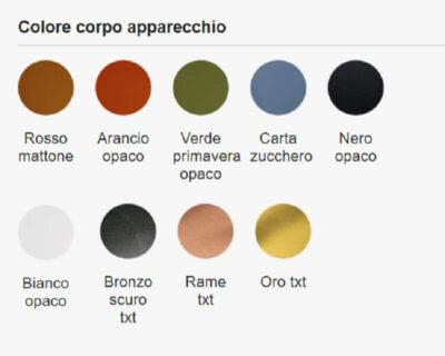 Pin Micro Exenia Faretto Led Varanti colore