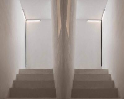 Y Karman Applique Led Moderna Luce Diretta Ambientazione 2