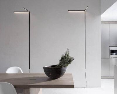 Y Karman Applique Led Moderna Luce Diretta Ambientazione 1