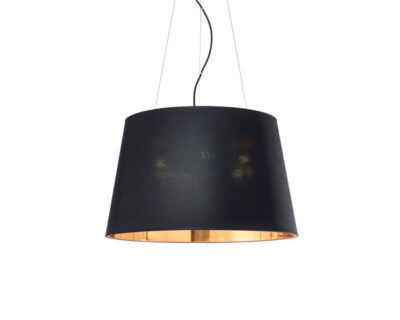 Nordik Ideal Lux Lampadario Moderno Nero Oro medium