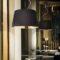 Nordik Ideal Lux Lampadario Moderno Nero Oro Big