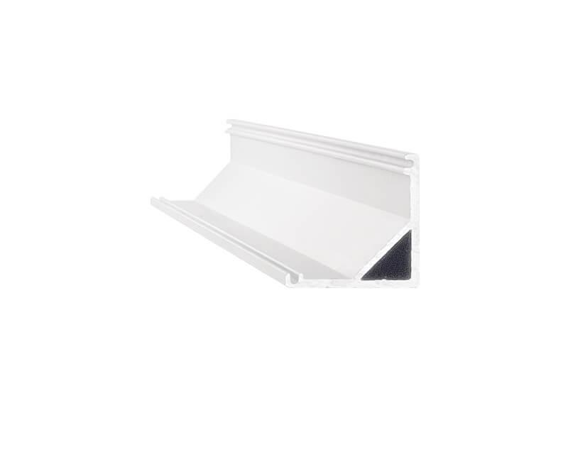 Slot Surface Ideal Lux Profilo in Alluminio Angolare Sezione