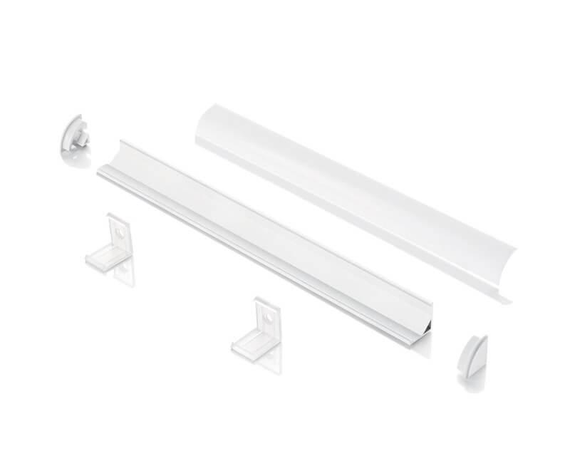 Slot Surface Ideal Lux Profilo in Alluminio Angolare Tecnica