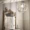 Rondo Ideal Lux Lampada a Sospensione Vintage Ambientata