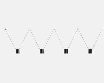 Attic-Leds-C4-Lampadario-Modulare-Di-Design-nero-4-luci