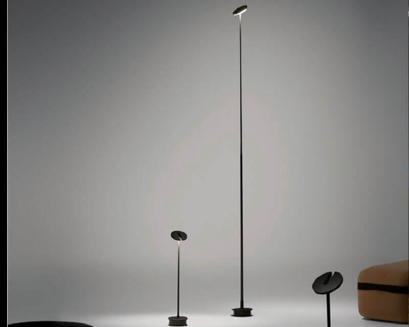 Invisible Leds-C4 Lampada da Terra per Esterni Altezze