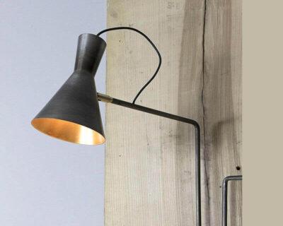 Imbuto Renzo Serafini applique con Bracci Orientabili In ferro dettagli