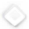 Inner S Vivida International Plafoniera quadrata bianca