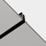 Track Leds-C4 Binario Magnetico a Incasso per Illuminazione montato