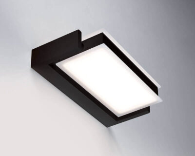 Axella Vivida International Applique Led Orientabile Nera Big