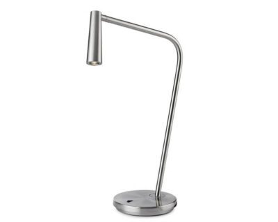Gamma Leds-C4 Lampada da Scrivania Led Nickel