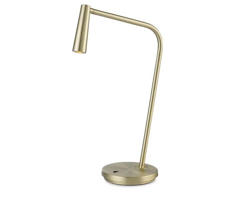 Gamma Leds-C4 Lampada da Scrivania Led Oro