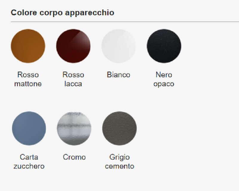 Go Exenia Lampadario Led Cilindrico Colorato Finiture