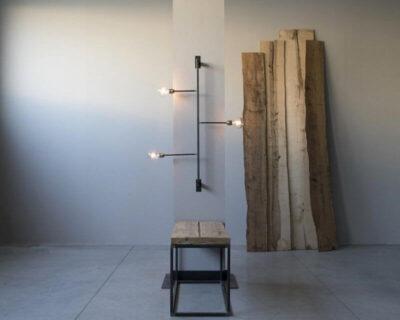 la-scaletta-lampada-parete-in-ferro-renzo-serafini-ambientazione