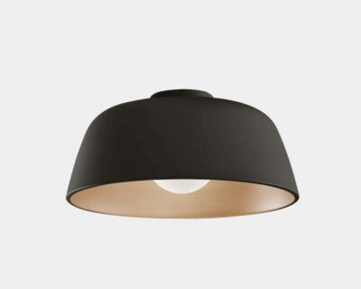 Miso Leds-C4 Plafoniera di Design Nero Oro