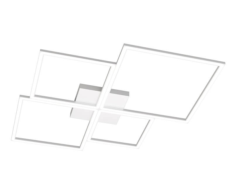 Four Squares Top Light Lampada a Soffitto led bianca large