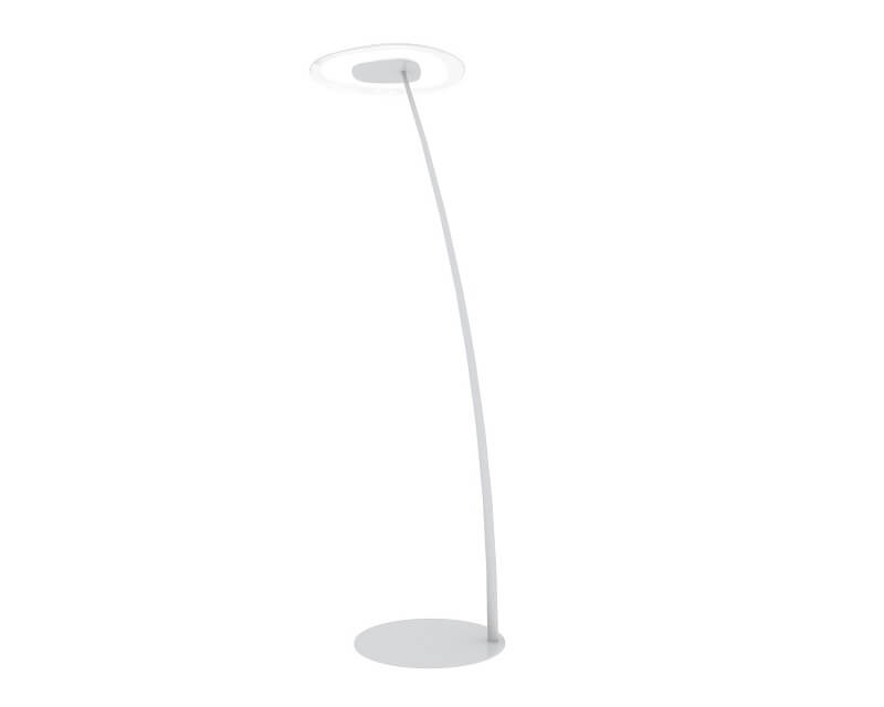 Antigua FL Linea Light Piantana Led Moderna Bianca
