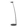 Antigua FL Linea Light Piantana Led Moderna Nera